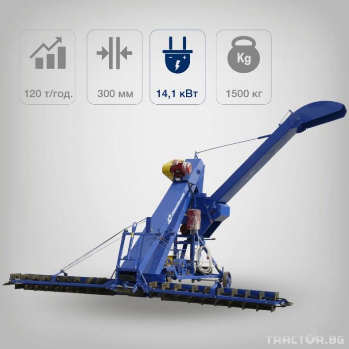 Обработка на зърно Зърнотоварач ЗЗП-100 от Рен Технолоджи 1 - Трактор БГ