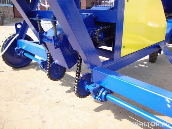 Обработка на зърно Зърнотоварач ЗЗП-100 от Рен Технолоджи 4 - Трактор БГ