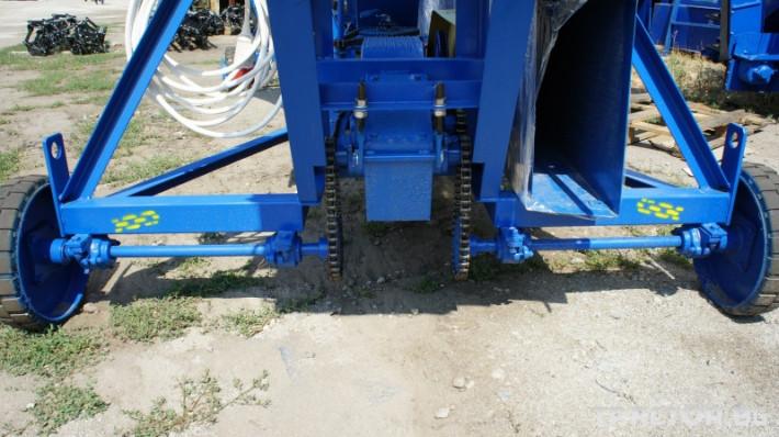 Обработка на зърно Зърнотоварачи ЗЗП-80 9 - Трактор БГ
