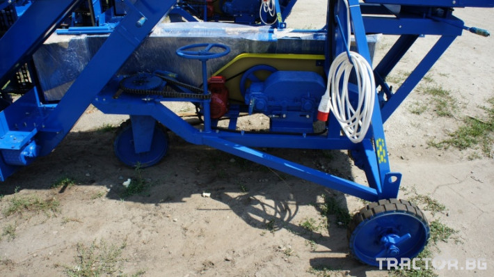 Обработка на зърно Зърнотоварачи ЗЗП-80 11 - Трактор БГ
