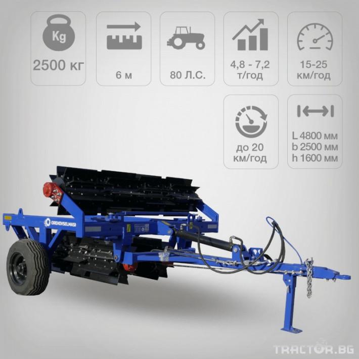 Валяци Orehovselmash Валяк за раздробяване и подравняване на почвата 4 - Трактор БГ