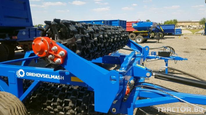 Валяци Orehovselmash Валяк за раздробяване и подравняване на почвата 5 - Трактор БГ