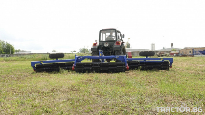 Валяци Orehovselmash Валяк за раздробяване и подравняване на почвата 8 - Трактор БГ