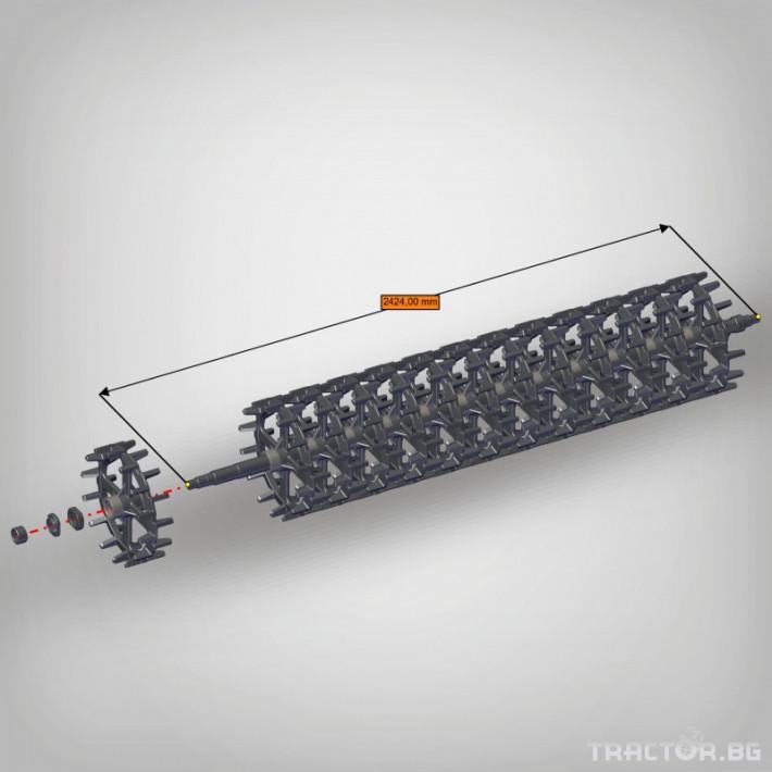 Валяци Orehovselmash Валяк за раздробяване и подравняване на почвата 10 - Трактор БГ