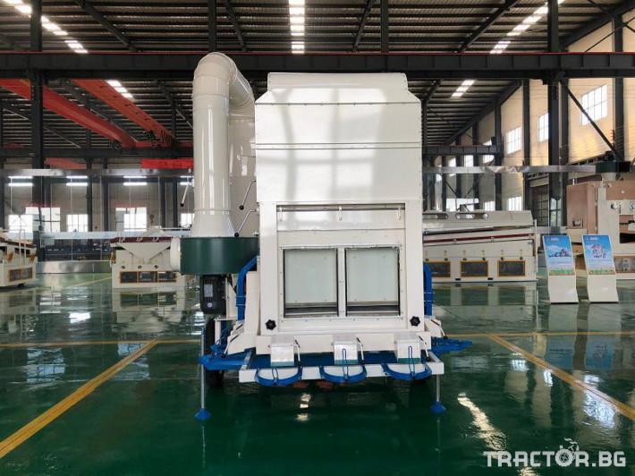 Обработка на зърно Машина за почистване и калибриране на семена 4 - Трактор БГ