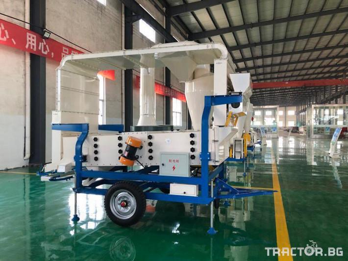 Обработка на зърно Машина за почистване и калибриране на семена 1 - Трактор БГ