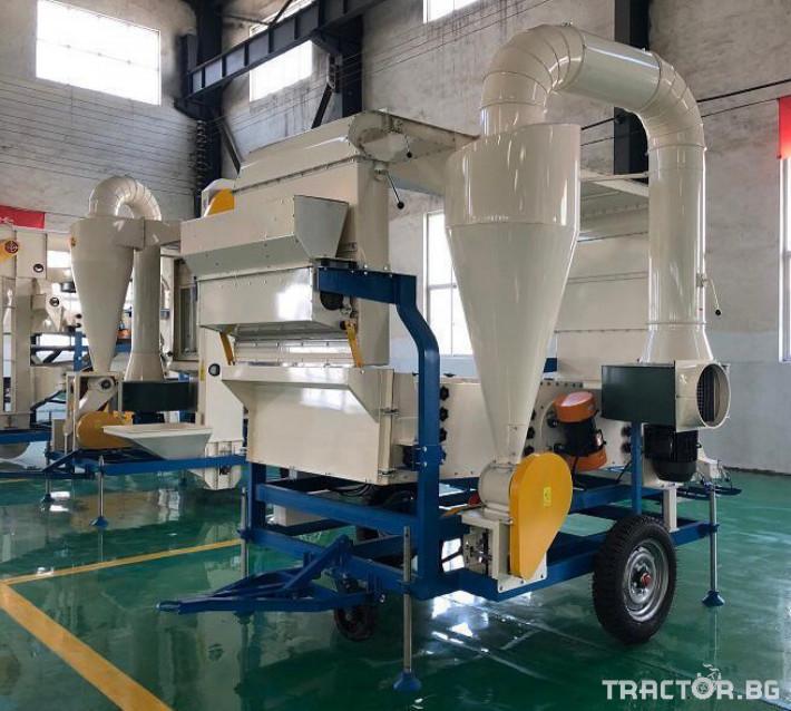 Обработка на зърно Машина за почистване и калибриране на семена 5 - Трактор БГ