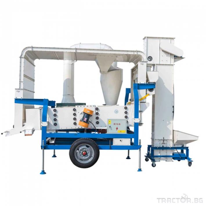 Обработка на зърно Машина за почистване и калибриране на семена 0 - Трактор БГ