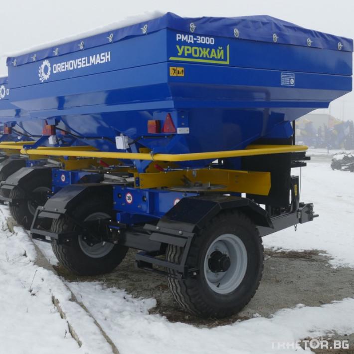 Торачки Orehovselmash Торачка за минерални торове RMD-3000 2 - Трактор БГ
