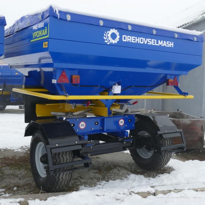 Торачки Orehovselmash Торачка за минерални торове RMD-3000 5 - Трактор БГ