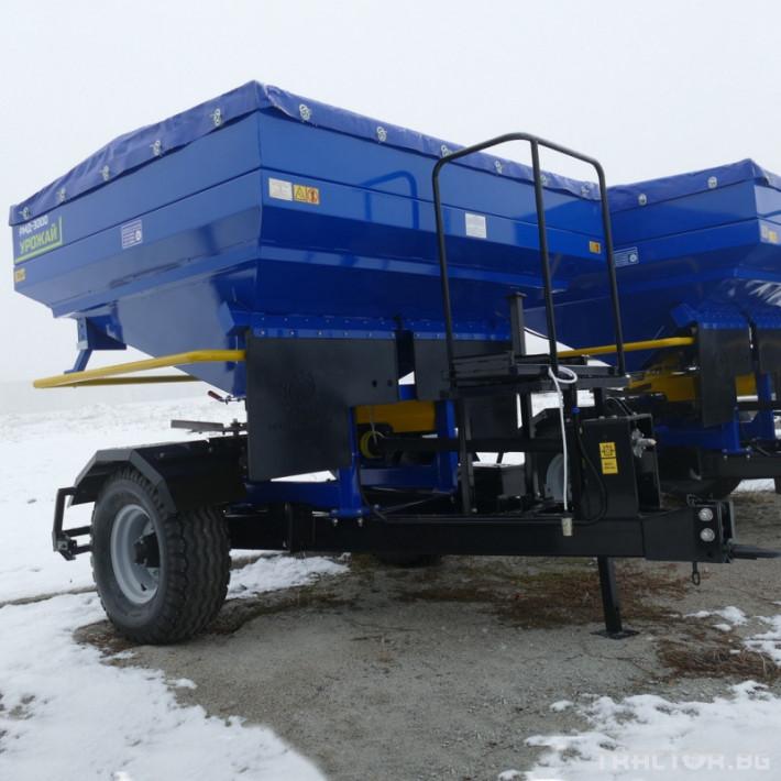 Торачки Orehovselmash Торачка за минерални торове RMD-3000 6 - Трактор БГ