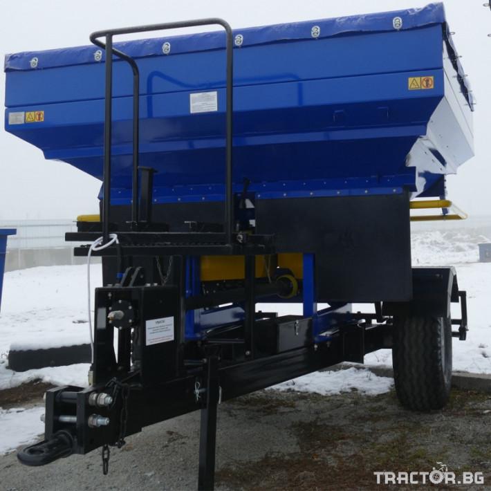 Торачки Orehovselmash Торачка за минерални торове RMD-3000 7 - Трактор БГ
