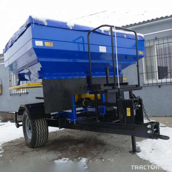 Торачки Orehovselmash Торачка за минерални торове RMD-3000 8 - Трактор БГ